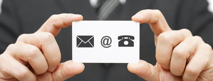 The importance of business cards for private practice