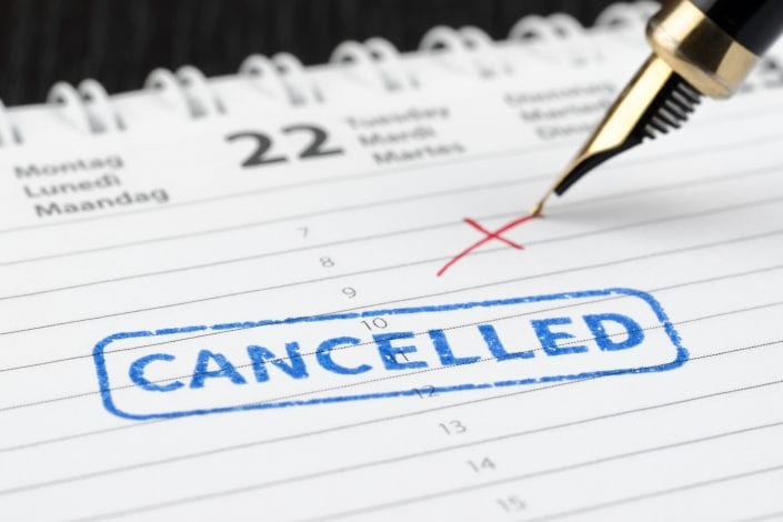 Cancelled Appointments